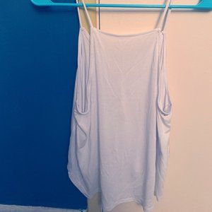 silence+noise White Flowy Tank Top
